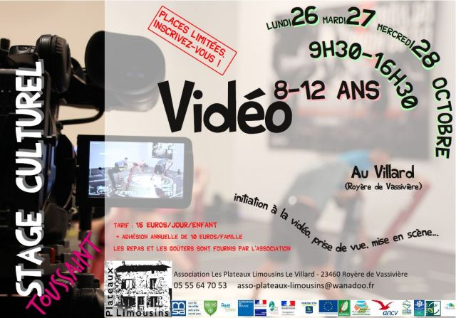 flyer A5 stage toussaint