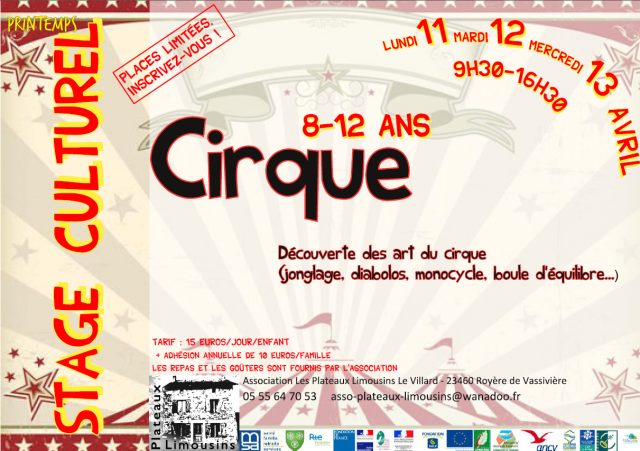 STAGE cirque 2016 recto