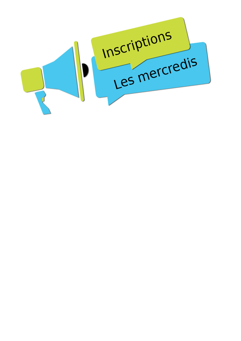 inscriptions mercredis