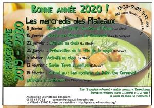 programme mercredi Jan Fev 2020 page001